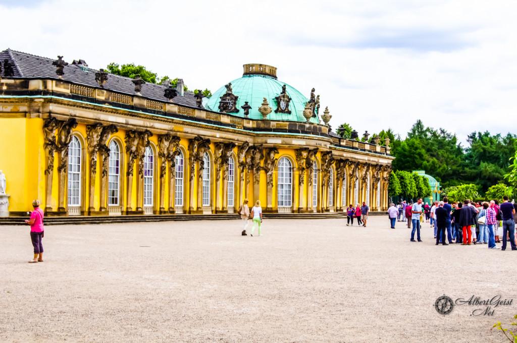 Потсдам — Schloss Sanssouci